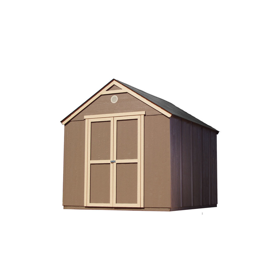 Shop heartland diy 8 39 x 10 39 kwik shed storage building at for Building a storage shed