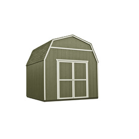 Heartland Rainier 10-ft x 10-ft Gambrel Wood Storage Shed (Actuals 10.15-ft x 10.03-ft)