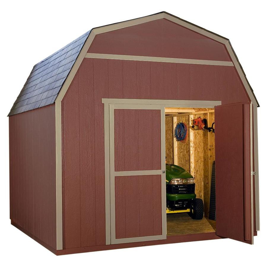 Heartland (Common: 48-ft x 48-ft; Interior Dimensions: 48-ft x 48.48-ft)  Rainier Gambrel Engineered Storage Shed