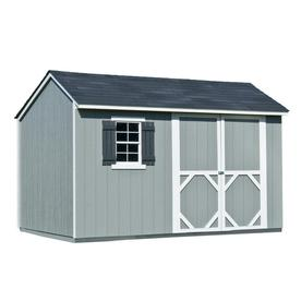 Heartland Stratford Saltbox Engineered Wood Storage Shed (Common: 12-ft x 8-ft; Interior Dimensions: 11.71-ft x 8-ft)