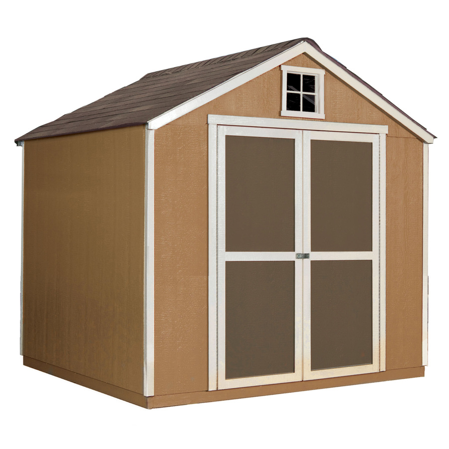 Shop Heartland Belmont Gable Engineered Wood Storage Shed (Common: 8