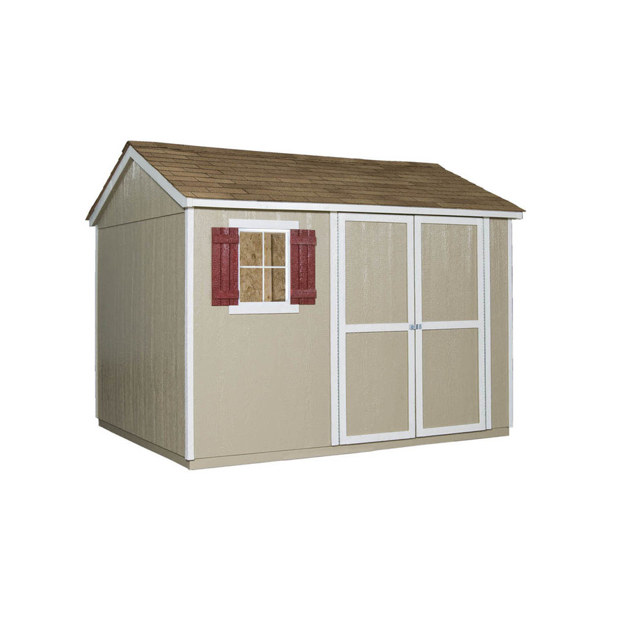 Shop heartland kensington saltbox engineered wood storage for Saltbox storage shed