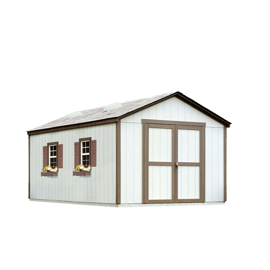 Backyard Sheds Lowes : Shop Heartland DIY 10 x 16 Diplomat Storage Building at Lowescom