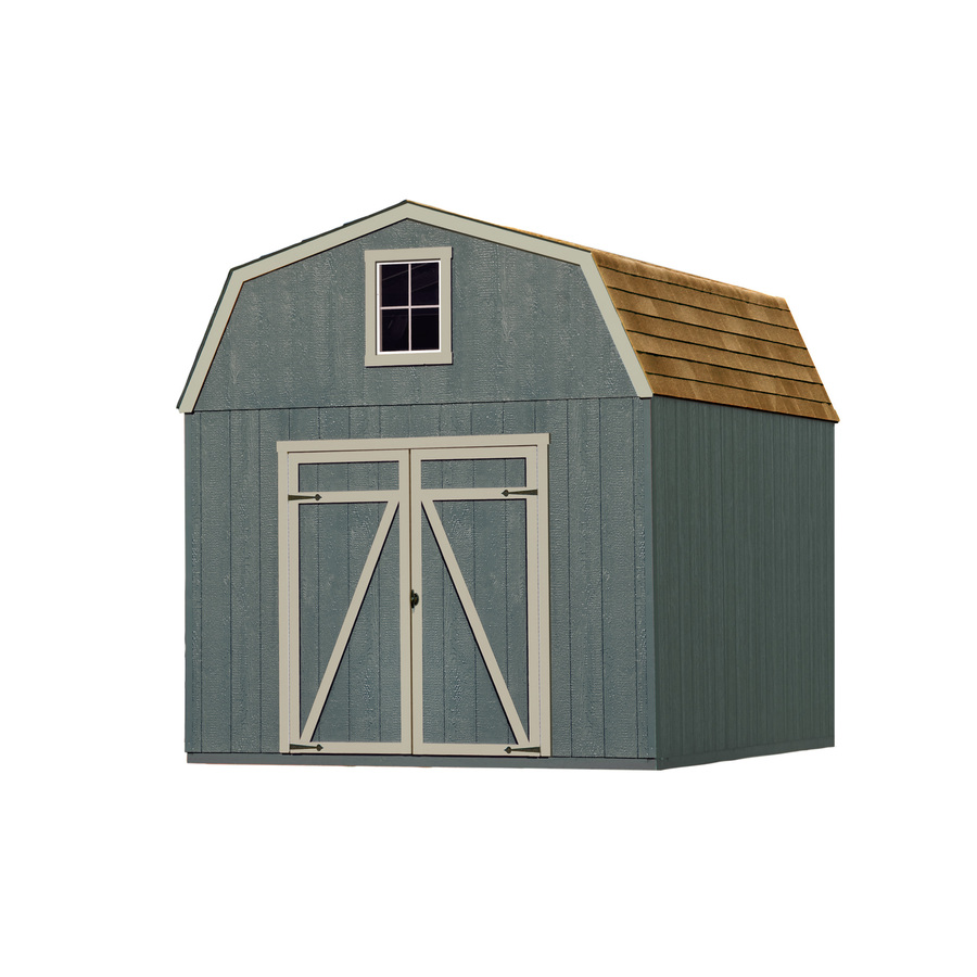 Heartland Estate Wood Storage Shed Gambrel
