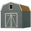 Heartland Estate Gambrel Engineered Wood Storage Shed (Common: 10-ft x 10-ft; Interior Dimensions: 10-ft x 10-ft)