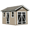 Heartland Hillsdale Gable Engineered Wood Storage Shed (Common: 8-ft x 12-ft; Interior Dimensions: 8-ft x 12-ft)