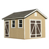 Heartland Hillsdale Gable Engineered Wood Storage Shed (Common: 10-ft x 12-ft; Interior Dimensions: 10-ft x 12-ft)