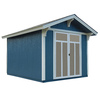 Heartland Prestwick Gable Engineered Wood Storage Shed (Common: 8-ft x 10-ft; Interior Dimensions: 8-ft x 10-ft)
