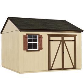 shop heartland gentry saltbox engineered wood storage shed