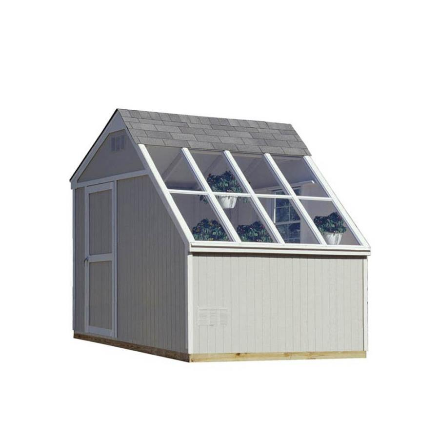 Heartland horizon saltbox engineered wood storage shed for Lowes storage sheds