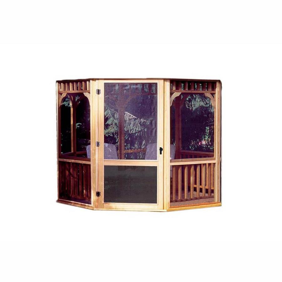 Shop Heartland 10ft Round Gazebo Screen Kit with Door at ...