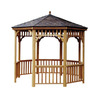 Heartland Seaside 10' Round Gazebo Without Floor