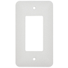 Mulberry 1-Gang White GFCI Metal Wall Plate