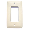 Mulberry 1-Gang Ivory GFCI Metal Wall Plate