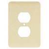 Mulberry 1-Gang Ivory Round Wall Plate