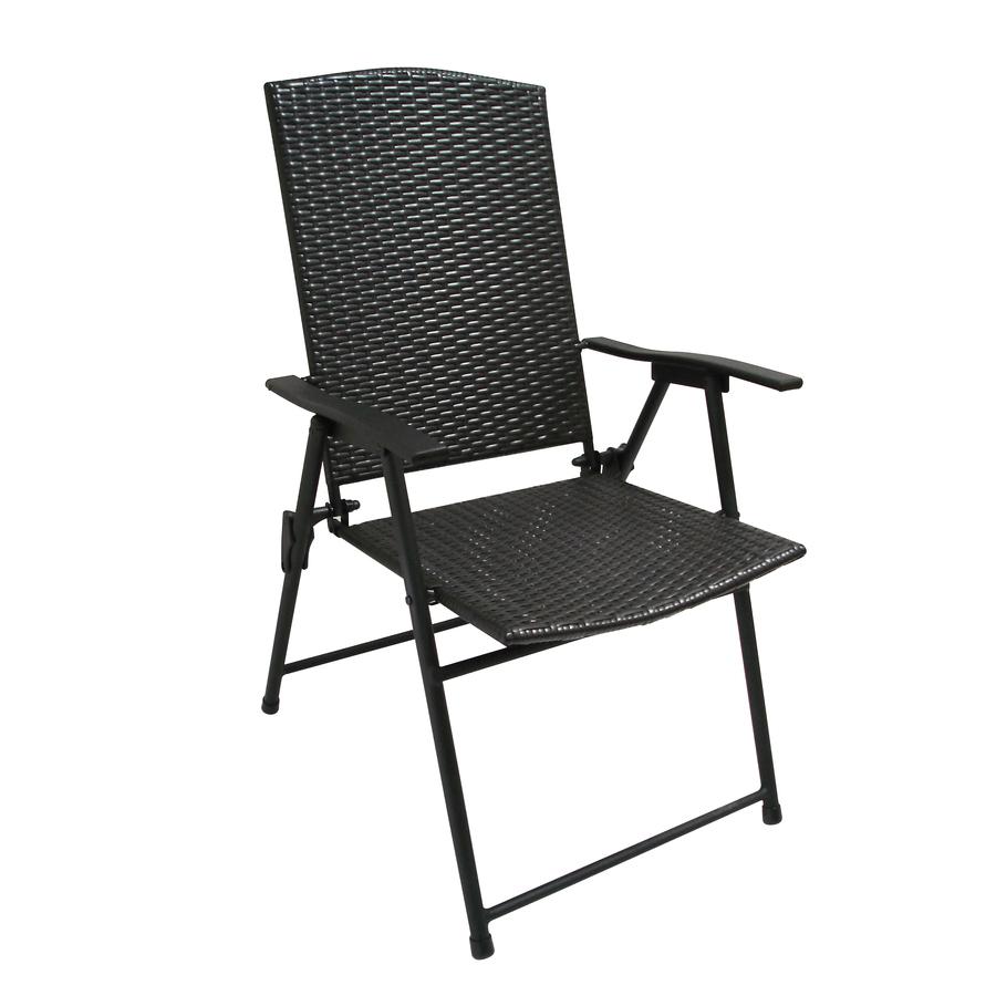 ... Treasures Indoor/Outdoor Steel Standard Folding Chair at Lowes.com