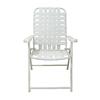 Garden Treasures White Steel Folding Conversation Chair