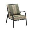 Garden Treasures Lake Notterly Black Steel Conversation Chair