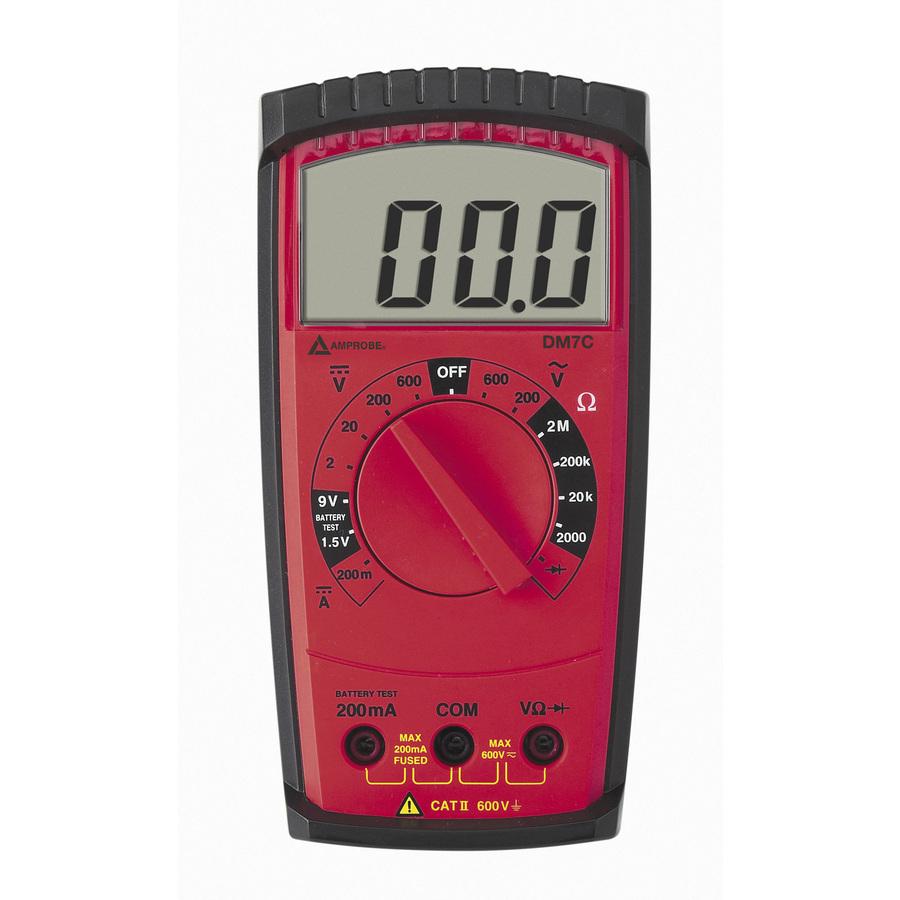 Electrical Multimeters At Lowe S : Shop amprobe digital multimeter at lowes