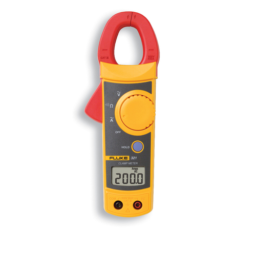 Zoomed: Fluke Fluke 321 Clamp Meter