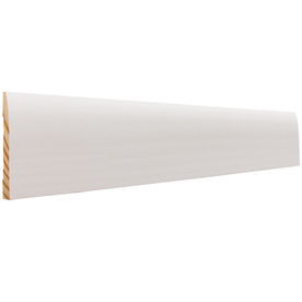 EverTrue 7/16-in x 3-in x 12-ft Primed Pine Base Moulding (Pattern L 724)