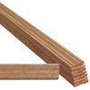 EverTrue 8-Piece 1/2-in x 2-1/4-in x 7-ft Stain grade Red Oak Casing Moulding Contractor Pack (Pattern L 356)