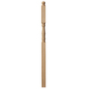 Creative Stair Parts 3.5-in x 73-in Raw Unfinished Maple Wood Stair Newel Post