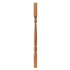 Creative Stair Parts Creative Parts 34-in Raw Wood Colonial Stair Baluster