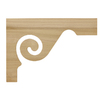 Creative Stair Parts Scroll Bracket