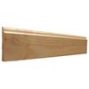 EverTrue 3.5-in x 10-ft Interior Pine Wood Baseboard