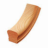 Creative Stair Parts Stain Grade Easing Handrail Fittings