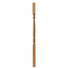 Creative Stair Parts Creative Parts 42-in Raw Wood Colonial Stair Baluster