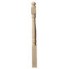 Creative Stair Parts 3.5-in x 48-in Raw Unfinished Poplar Wood Stair Newel Post