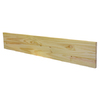 48-in x 7-1/2-in Unfinished Pine Interior Stair Riser