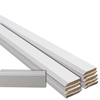 EverTrue 10-Piece 9/16-in x 3-1/4-in x 12-ft Primed Pine Base Moulding Contractor Pack (Pattern 623)