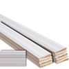 EverTrue 10-Piece 9/16-in x 3-1/4-in x 12-ft Primed Pine Base Moulding Contractor Pack (Pattern 631)
