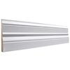 EverTrue 4.5-in x 12-ft Interior Pine PFJ Baseboard
