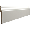 RapidFit 7/8-in x 5-1/4-in x 8-ft Primed MDF Base Moulding (Pattern R 805)
