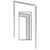 3.25-in x 7.04-ft Interior Pine MDF Casing Window and Door Casing