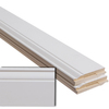 5-Piece 1/2-in x 5-1/4-in x 12-ft Primed MDF Base Moulding Contractor Pack (Pattern 514)