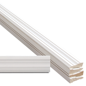 5-Piece 11/16-in x 2-1/4-in x 7-ft Primed Pine Casing Moulding Contractor Pack (Pattern 366)