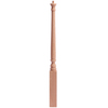  43-in Stain Grade Red Oak Starting Stair Newel Post