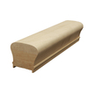 Creative Stair Parts 2.625-in x 10-ft Stain Grade Plowed Handrail