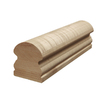 Creative Stair Parts 2.625-in x 16-ft Stain Grade Un-Plowed Handrail