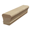 Creative Stair Parts 2.25-in x 10-ft Stain Grade Un-Plowed Handrail