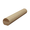 Creative Stair Parts 1.75-in x 14-ft Stain Grade Un-Plowed Handrail