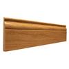 4.25-in x 12-ft Interior Oak Baseboard