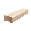 Creative Stair Parts 2.75-in x 8-ft Stain Grade Plowed Handrail