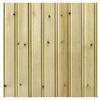 Empire Company 2-11/16-ft Whitewood Edge and Center Bead Wainscot