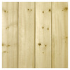Empire Company 3.5625-in x 2.67-ft V-Groove Raw Pine Wood Wainscot Wall Panel